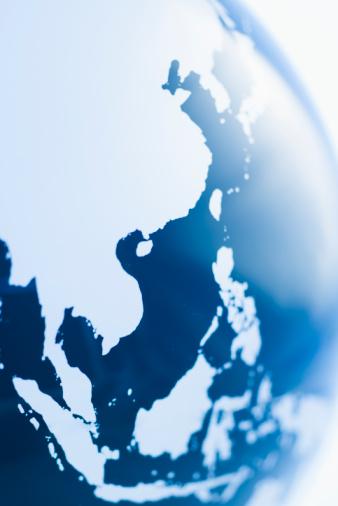 アジア大陸「Globe」:スマホ壁紙(13)
