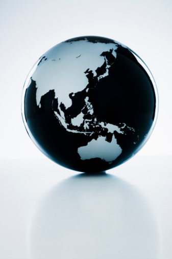 Map「A globe」:スマホ壁紙(11)