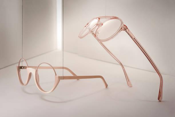 Groups of reading glasses hanging and suspended:スマホ壁紙(壁紙.com)