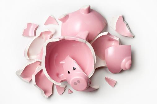 貧困「プロークンピギー銀行ます。」:スマホ壁紙(2)