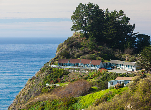Big Sur「Lucia Lodge, Big Sur, California」:スマホ壁紙(3)
