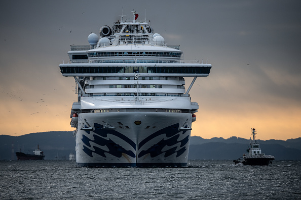 Ship「Japan Screens Cruise Ship Diamond Princess For The Wuhan Coronavirus」:写真・画像(1)[壁紙.com]