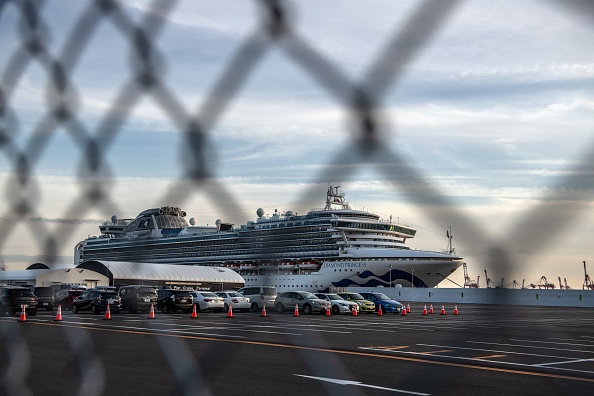 Ship「Japan Screens Cruise Ship Diamond Princess For The Wuhan Coronavirus」:写真・画像(17)[壁紙.com]