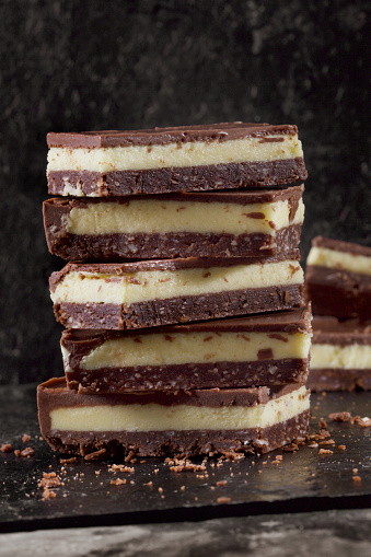 Milk Chocolate「Nanaimo Bars - Custard filling on a Cocunut Chocolate Crumb」:スマホ壁紙(6)
