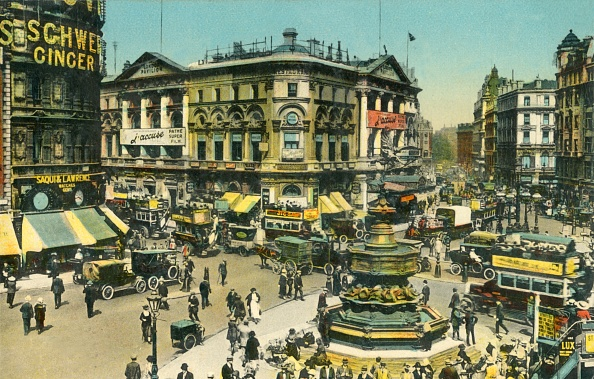 Hand Colored「Piccadilly Circus」:写真・画像(14)[壁紙.com]