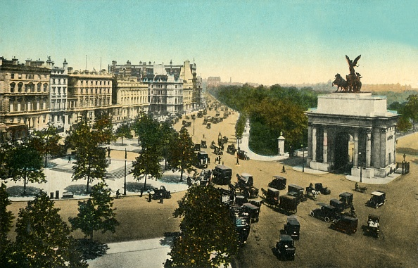 Arch - Architectural Feature「Piccadilly From Hyde Park Corner」:写真・画像(1)[壁紙.com]