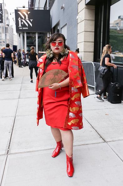 Achim Aaron Harding「Street Style - New York Fashion Week September 2018 - Day 7」:写真・画像(18)[壁紙.com]