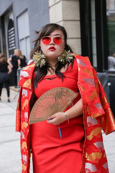Achim Aaron Harding「Street Style - New York Fashion Week September 2018 - Day 7」:写真・画像(17)[壁紙.com]