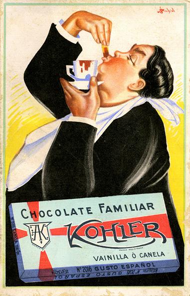 チョコレート「Galician advertisement for Kohler family chocolate」:写真・画像(3)[壁紙.com]