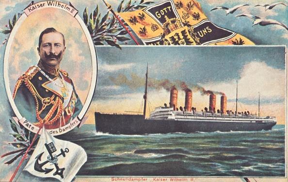 Passenger Craft「The Ss Kaiser Wilhelm Ii」:写真・画像(19)[壁紙.com]