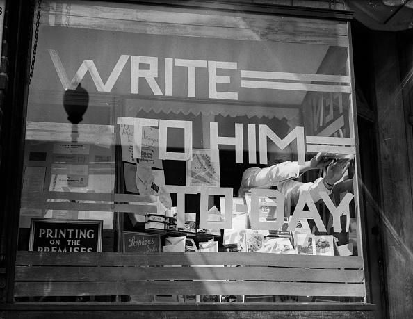 Fred Morley「Shop Sign」:写真・画像(1)[壁紙.com]