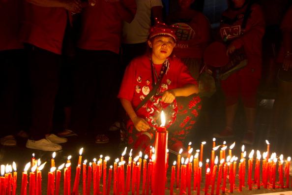 Paula Bronstein「Red Shirts Hold Peaceful Rally in Bangkok」:写真・画像(14)[壁紙.com]