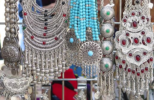 Gift Shop「Jewelry in Flea Market, Washington DC, USA」:スマホ壁紙(14)