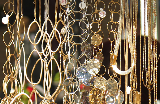 Gift Shop「Jewelry in Flea Market, Washington DC, USA」:スマホ壁紙(15)
