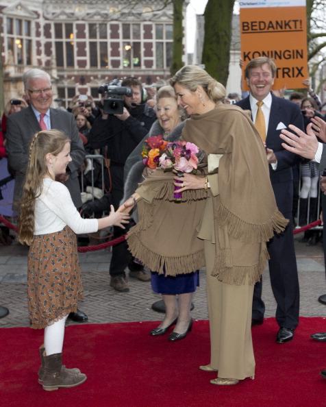 Utrecht「Queen Beatrix, Prince Willem Alexander And Princess Maxima Of The Netherlands Attend 300 Year Utrecht Peace Celebrations」:写真・画像(19)[壁紙.com]