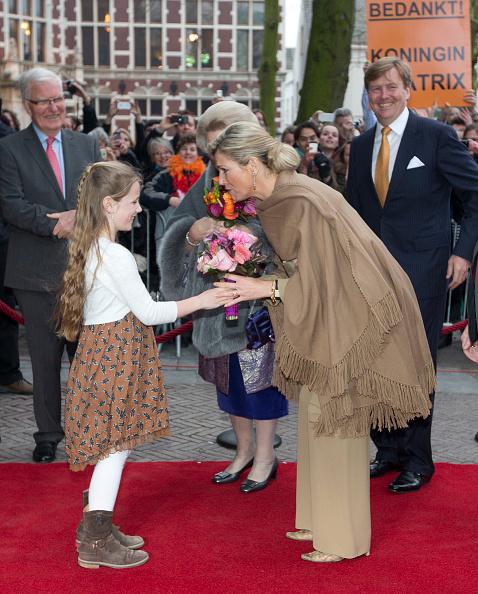 Utrecht「Queen Beatrix, Prince Willem Alexander And Princess Maxima Of The Netherlands Attend 300 Year Utrecht Peace Celebrations」:写真・画像(8)[壁紙.com]