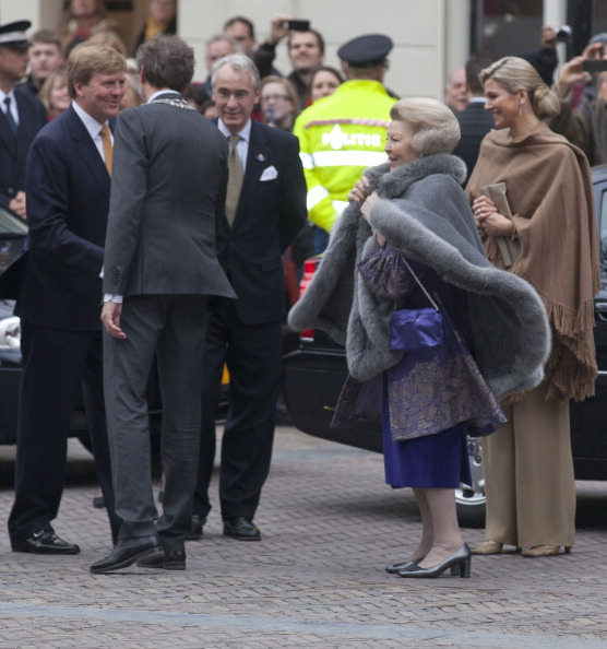 Utrecht「Queen Beatrix, Prince Willem Alexander And Princess Maxima Of The Netherlands Attend 300 Year Utrecht Peace Celebrations」:写真・画像(7)[壁紙.com]