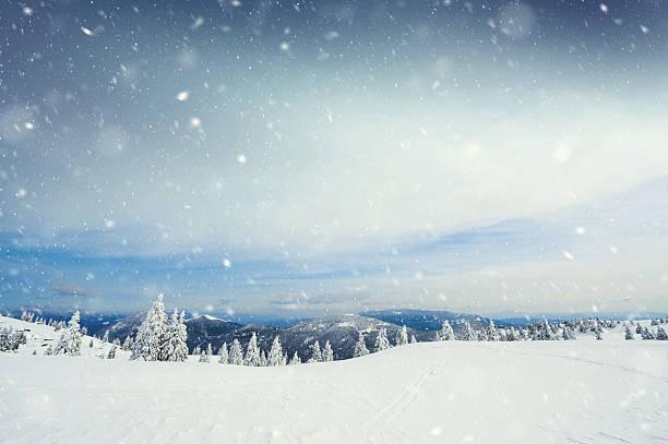 雪の嵐:スマホ壁紙(壁紙.com)