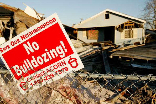 Destruction「New Orleans Residents Battle To Save Ninth Ward Homes」:写真・画像(10)[壁紙.com]