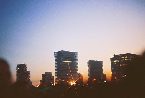 Music Festival「Downtown Barcelona Skyline」:スマホ壁紙(15)