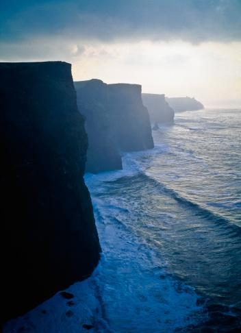 アイリッシュ海「iew of cliffs」:スマホ壁紙(5)