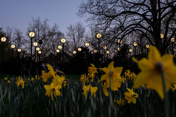 Düsseldorf「The Clocks Go Forward As Europe Changes To Summer Time」:写真・画像(14)[壁紙.com]