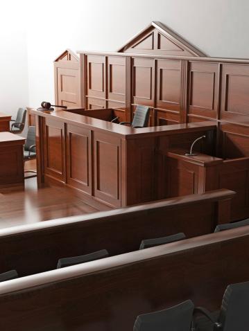 Wood Paneling「Courtroom」:スマホ壁紙(1)