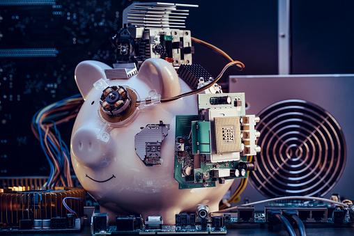 Cryptocurrency「Piggy Bank」:スマホ壁紙(16)
