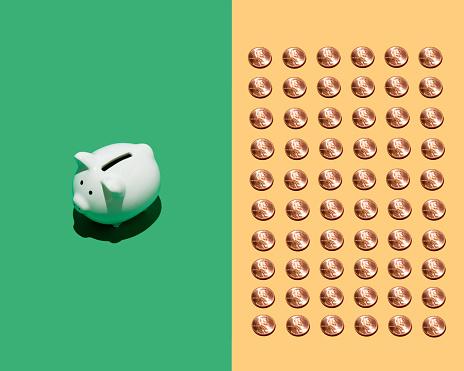 Continuity「Piggy bank and pennies」:スマホ壁紙(16)
