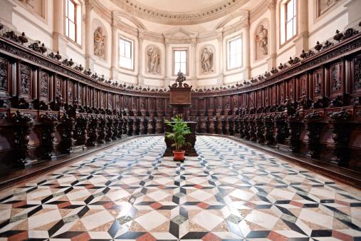 Singer「San Giorgio Maggiore Choir, Venice, Italy」:スマホ壁紙(16)