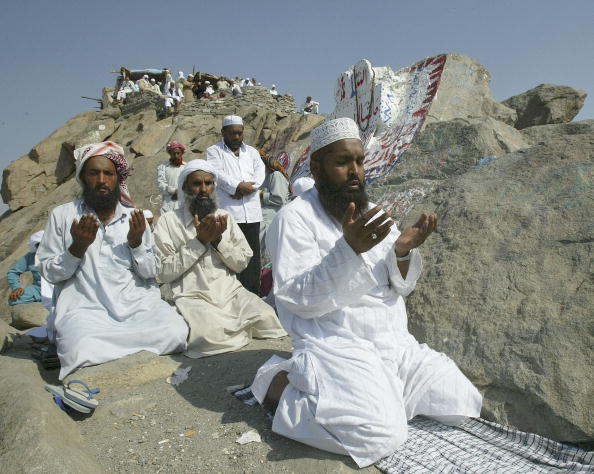 Front View「Muslims Prepare for Annual Hajj in Mecca」:写真・画像(6)[壁紙.com]
