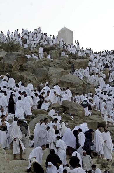 Mountain「Muslim Pilgrims Climb Mt Arafat As Part Of Hajj Ritual」:写真・画像(13)[壁紙.com]