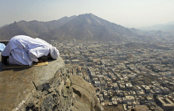 Mountain「Muslims Prepare for Annual Hajj in Mecca」:写真・画像(1)[壁紙.com]