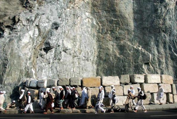 Abid Katib「Muslims From Around the Wolrd Converge On Mecca」:写真・画像(10)[壁紙.com]