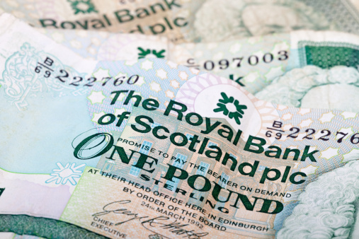 スコットランド文化「Scottish pound notes」:スマホ壁紙(12)