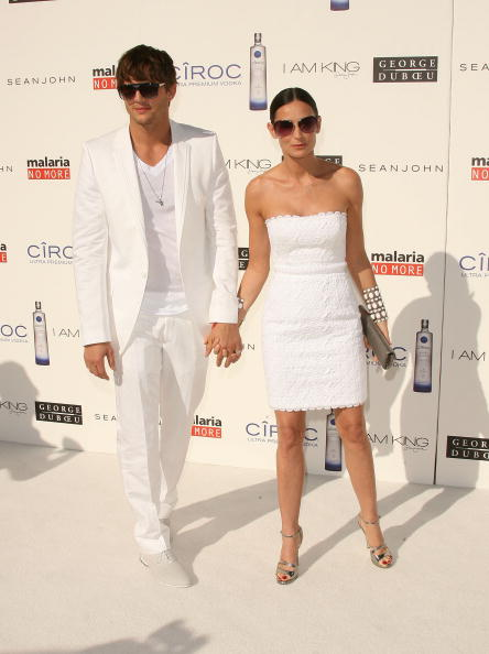 """Silver - Metal「Sean """"Diddy"""" Combs And Ashton Kutcher Host Malaria No More, The White Party」:写真・画像(13)[壁紙.com]"""