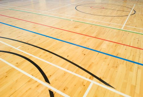 ������「School gymnasium floor」:スマホ壁紙(11)