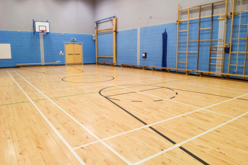バスケットボール「体育館」:スマホ壁紙(7)