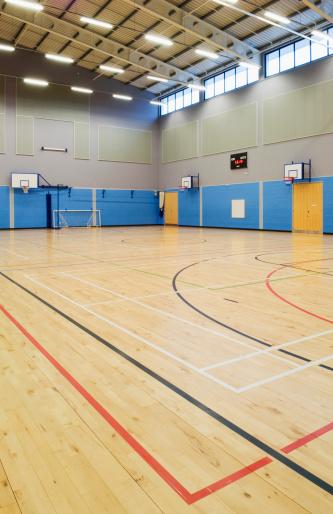 Ceiling「School gymnasium」:スマホ壁紙(16)
