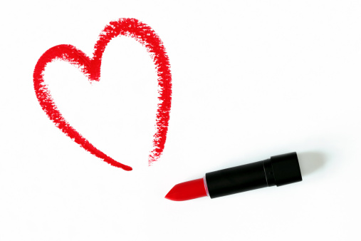 Heart「Lipstick Heart Drawing」:スマホ壁紙(15)