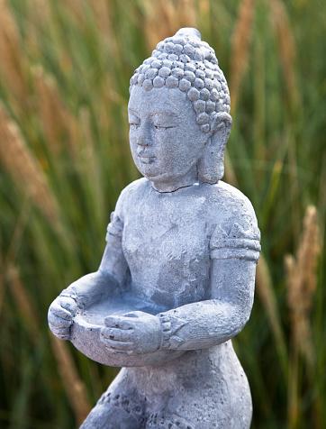 仏像「仏陀のフィギュアの自然」:スマホ壁紙(12)