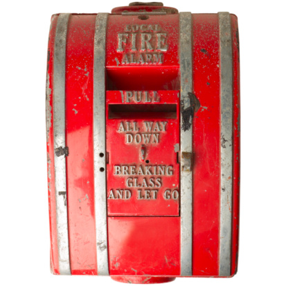 Smoke Detector「Red Fire Alarm」:スマホ壁紙(6)