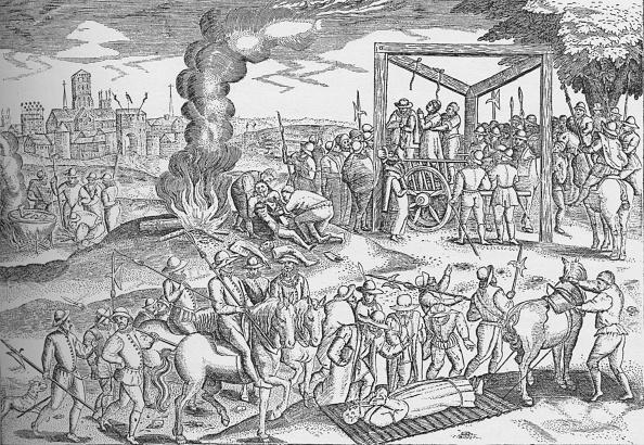 16th Century「Martyrs at Smithfield, London, c1600 (1904)」:写真・画像(7)[壁紙.com]