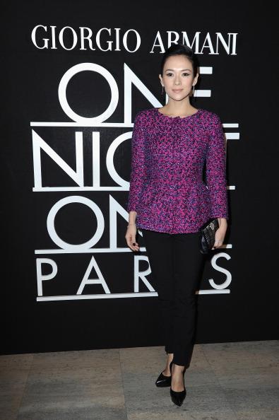 Pascal Le Segretain「Giorgio Armani Prive : Front Row - Paris Fashion Week - Haute Couture S/S 2014」:写真・画像(11)[壁紙.com]