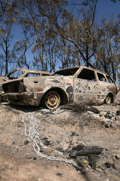 Environmental Damage「Death Toll Passes 100 As Bushfires Sweep Through Victoria」:写真・画像(12)[壁紙.com]