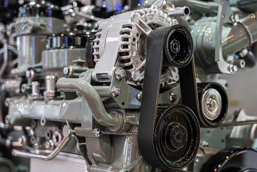 Belt「Car engine partial close-up」:スマホ壁紙(15)