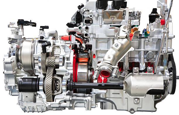 Car Engine, Isolated on White:スマホ壁紙(壁紙.com)