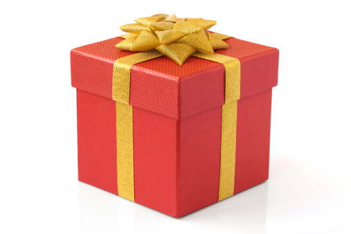 Christmas Decoration「gift box」:スマホ壁紙(19)