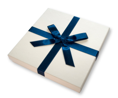Receiving「Gift box (BLUE BOW)」:スマホ壁紙(9)