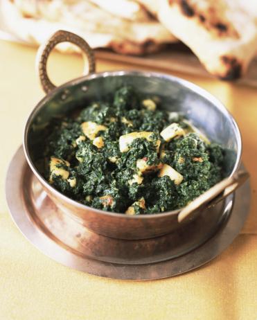 Vegetable Curry「Indian saag paneer」:スマホ壁紙(9)